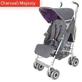 Maclaren Techno XLR Charcoal Majesty