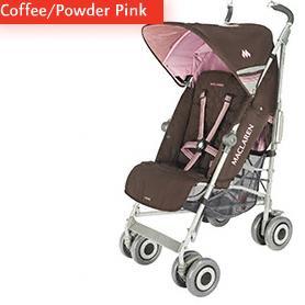Maclaren Techno XLR Coffee Powder Pink